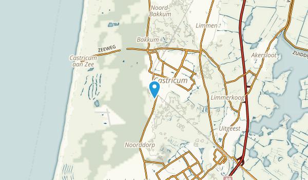 Castricum, Noord-Holland Map