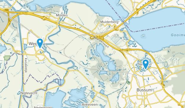Weesp, Noord-Holland Map