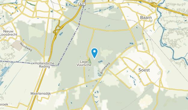 Lage-Vuursche, Utrecht Map