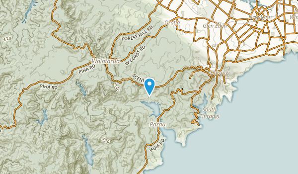 Mackies Rest, New Zealand Map