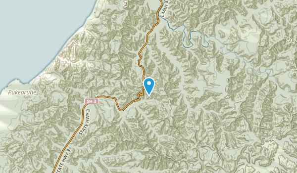 Pukearuhe, Auckland Region Map