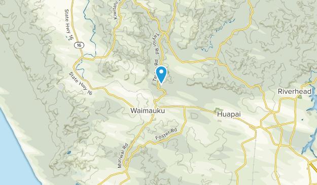 Waimauku, Auckland Region Map