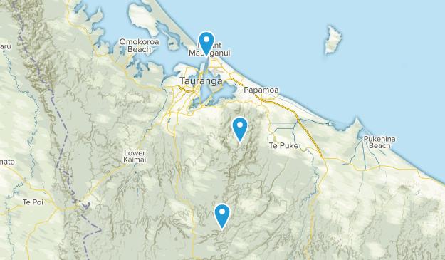 Upper Papamoa, Bay of Plenty Region Map