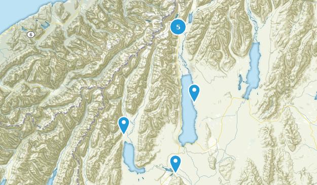 Twizel, Canterbury Region Map