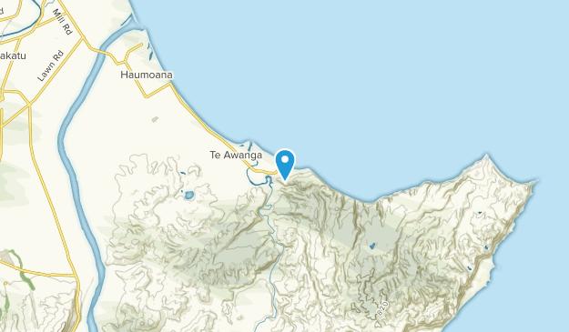 Clifton, Hawke's Bay Region Map