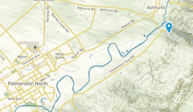 Where Is Wanganui In New Zealand Map.Best Trails Near Palmerston North Manawatu Wanganui New Zealand