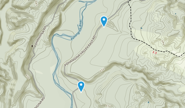 Ashhurst, Manawatu-Wanganui Region Map