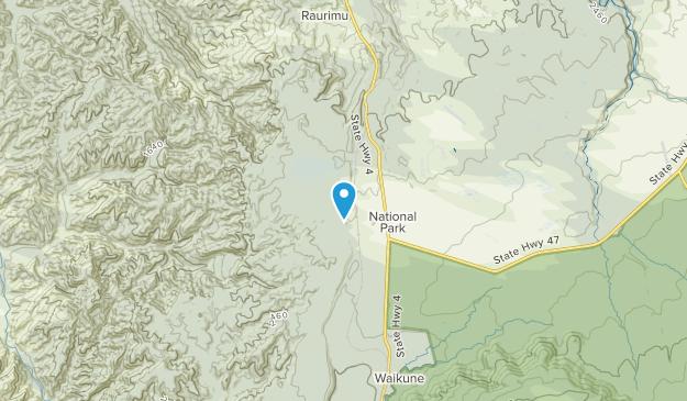 National Park, Manawatu-Wanganui Region Map