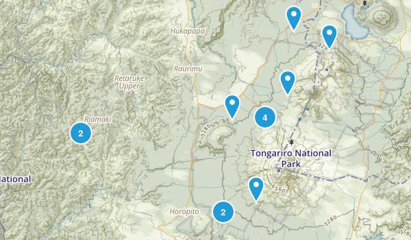 Papakai, Manawatu-Wanganui Region Map