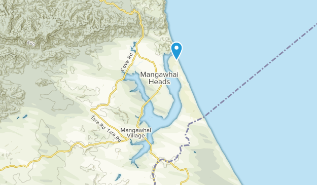 New Zealand Northland Map Detailed.Best Trails Near Mangawhai Northland New Zealand Alltrails