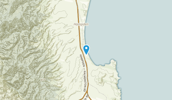 Hillgrove, Otago Region Map