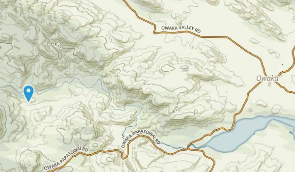 Owaka, Otago Region Map