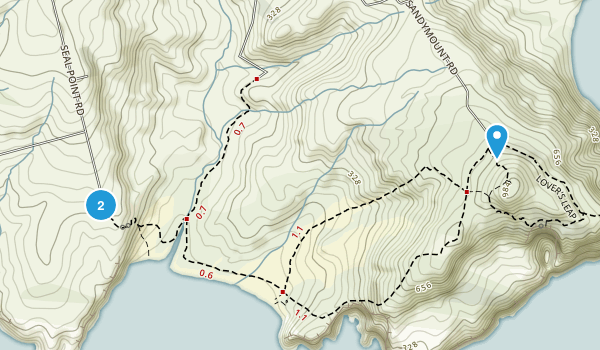 Pukehiki, Otago Region Map