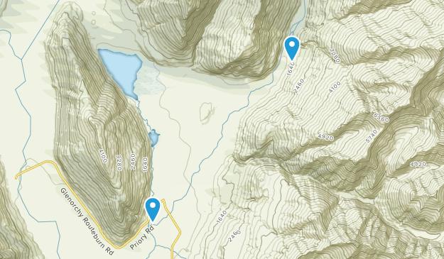 Queenstown Lakes, Otago Region Map