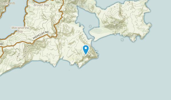 Sandymount, Otago Region Map