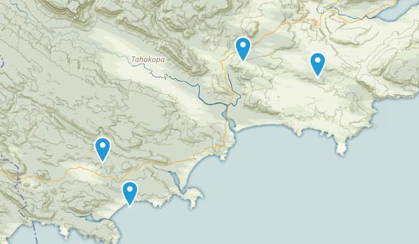 Tarara, Otago Region Map