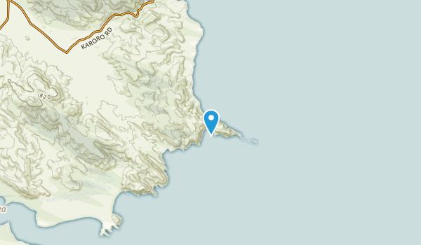 Tirohanga, Otago Region Map