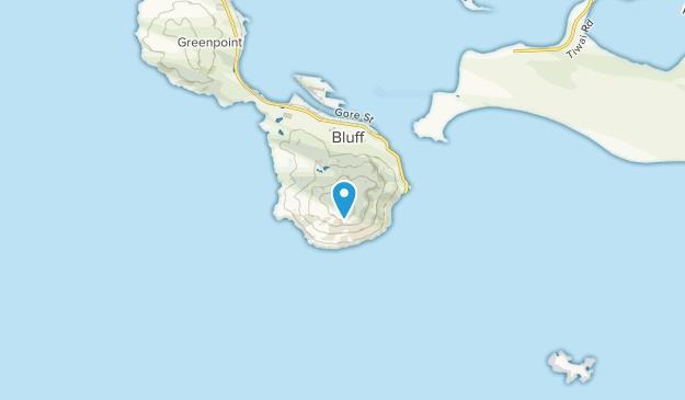 Bluff, Southland Region Map