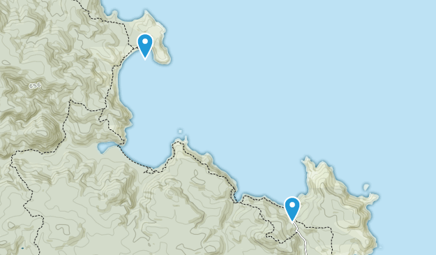 Halfmoon Bay (Oban), Southland Region Map