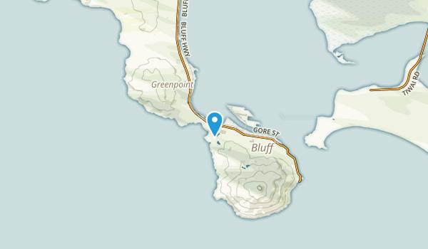 Ocean Beach, Southland Region Map