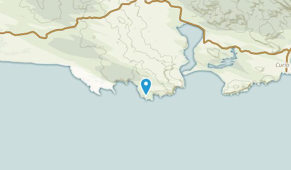 Tokanui, Southland Region Map