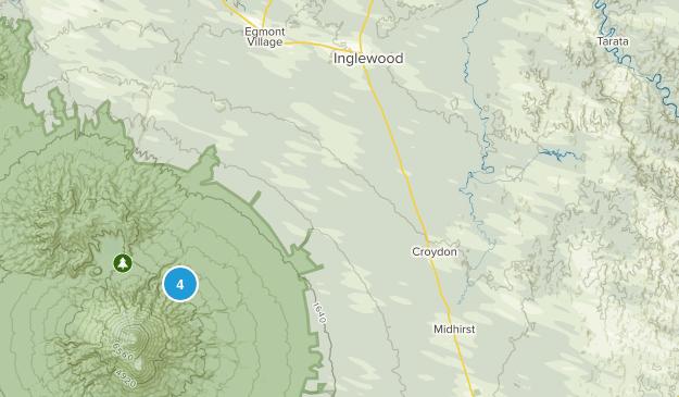 Inglewood, Taranaki Region Map