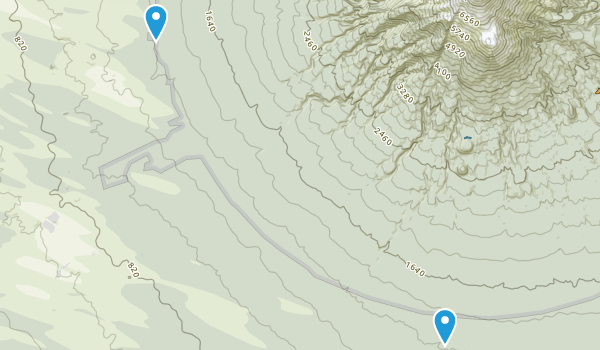 Makaka, Taranaki Region Map
