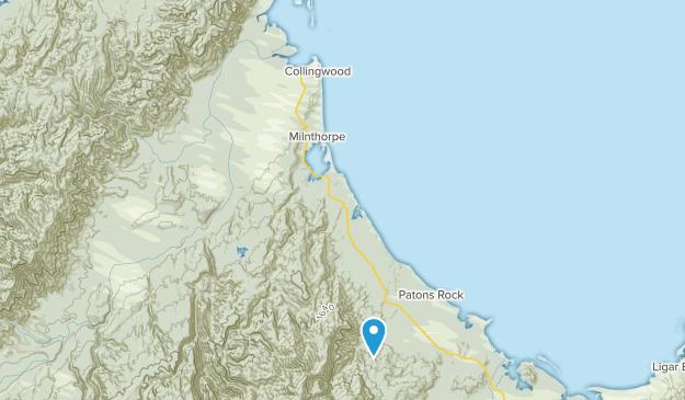 Collingwood, Tasman Map