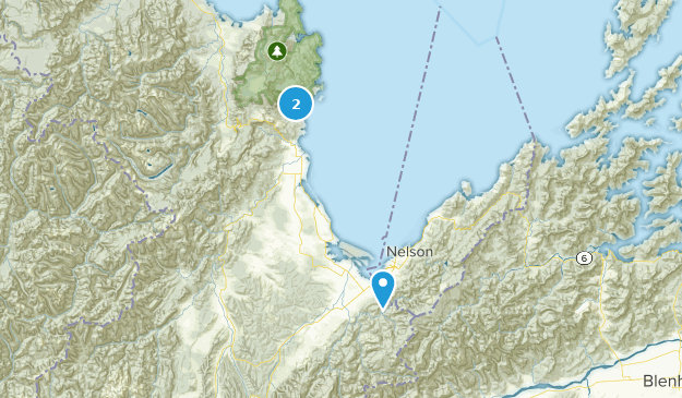 Richmond, Tasman District Map