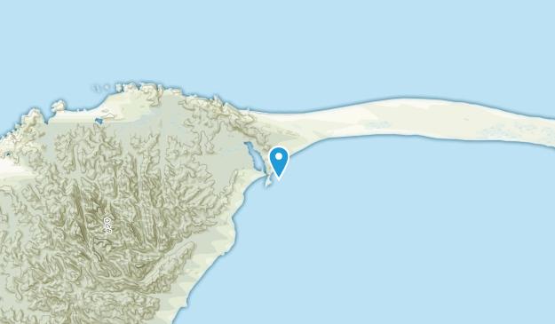 Port Puponga, Tasman Region Map
