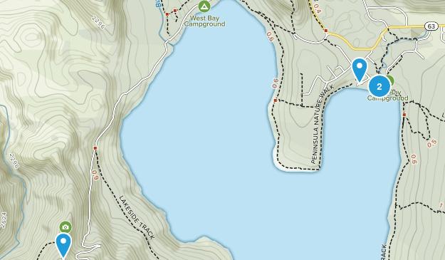 Saint Arnaud, Tasman Region Map