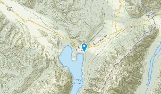 St Arnaud, Tasman Region Map