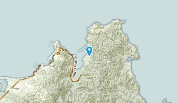 Takapou, Tasman Region Map