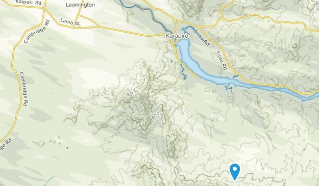 Cambridge, Waikato Map