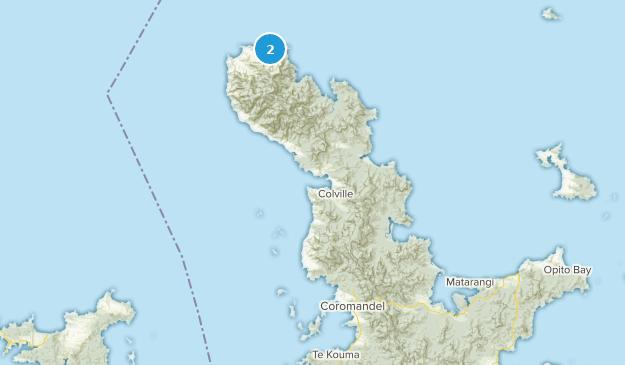 Waikato New Zealand Map.Best Trails Near Coromandel Waikato New Zealand Alltrails