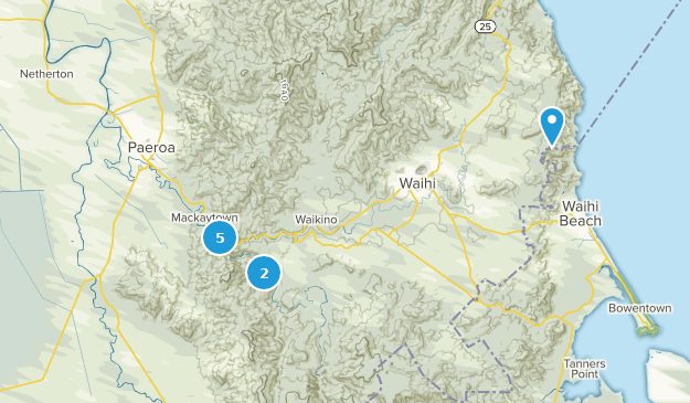 Waikato New Zealand Map.Best Trails Near Paeroa Waikato New Zealand Alltrails