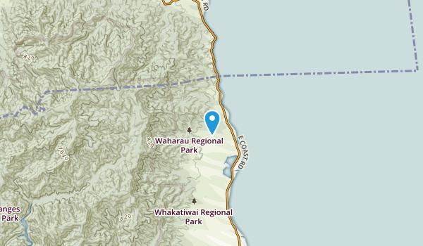 Pokeno, Waikato Region Map