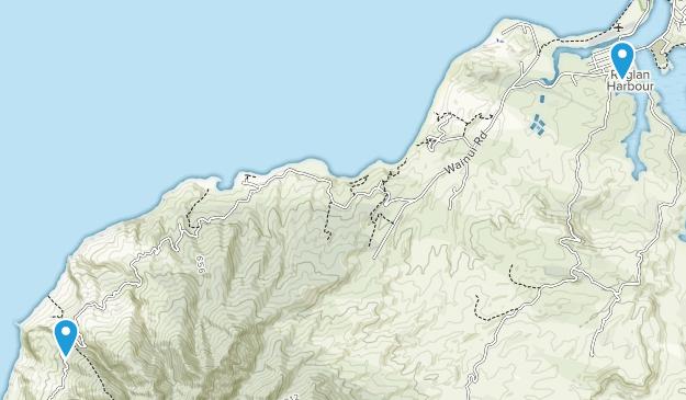 Raglan, Waikato Region Map