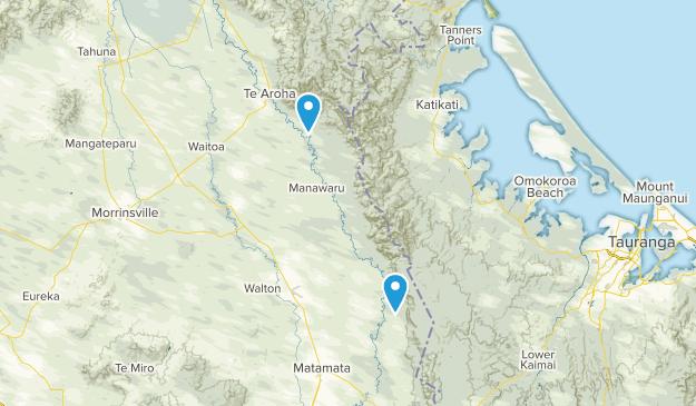 Waiorongomai, Waikato Region Map