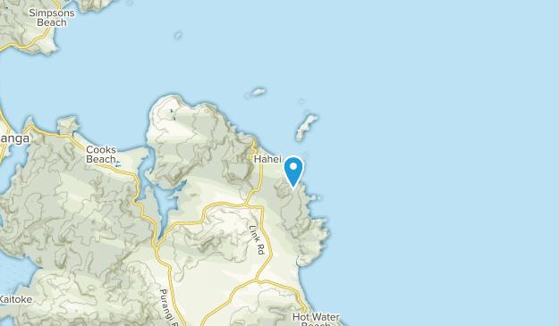 Whitianga, Waikato Region Map