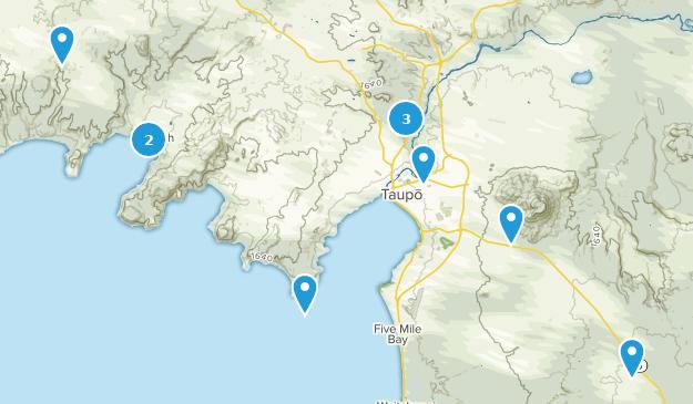 Waikato New Zealand Map.Best Trails Near Taupo Waikato New Zealand Alltrails