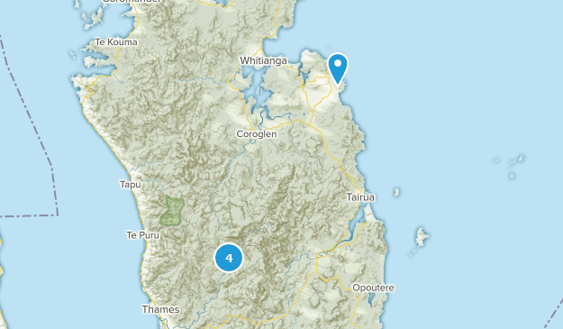 Waikato New Zealand Map.Best Trails Near Whitianga Waikato New Zealand Alltrails
