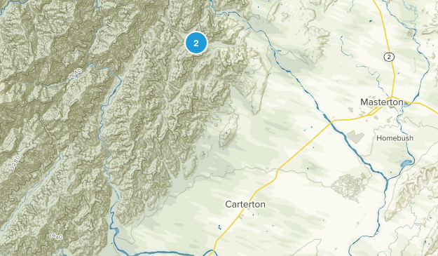 Carterton, Wellington Region Map