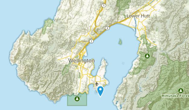 Wellington, Wellington Region Map
