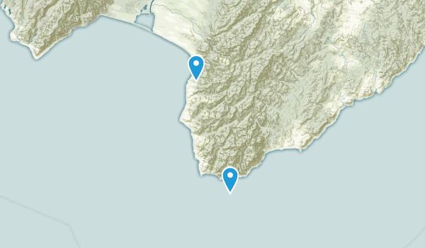 Whangaimoana, Wellington Region Map