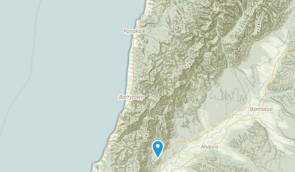 Blackball, West Coast Region Map