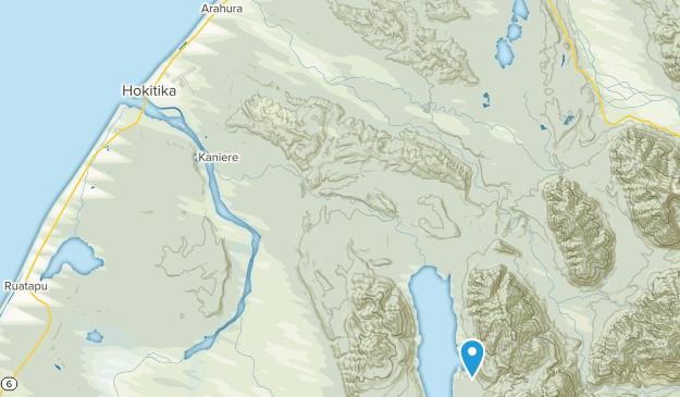 Hokitika, West Coast Region Map
