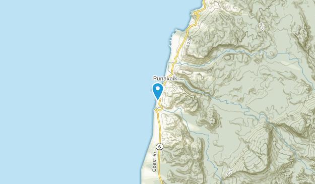 Runanga, West Coast Region Map