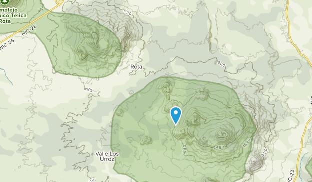 Rota, León Map