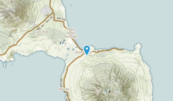 Jinotega, Rivas Map